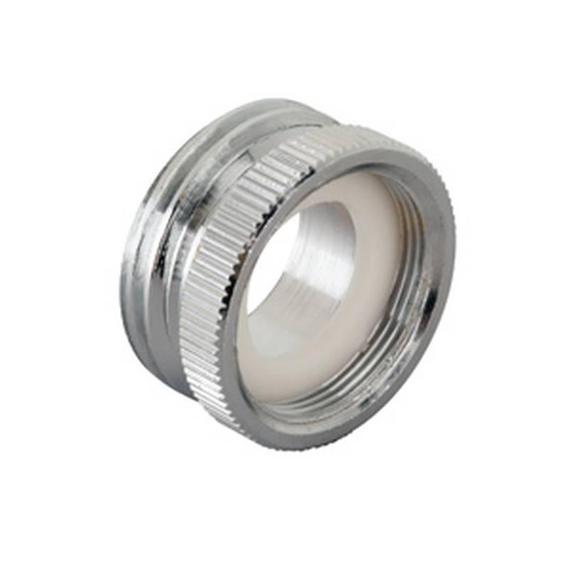 Moen M3743 Faucet Adapter, 15/16 in - 27 (Fine Thread) Female x 3/4 ...