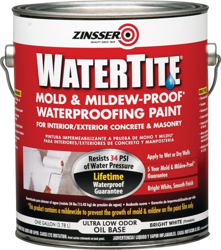 Zinsser Watertite Paint On Wood