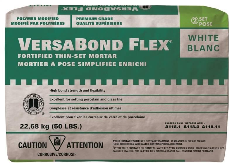 Versabond Flex Cvbfw50 All Purpose Fortified Thin Set