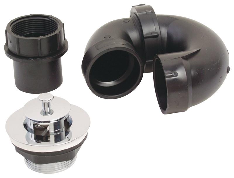 United States Hardware P 118c Abs Plast Tub Drain Kit