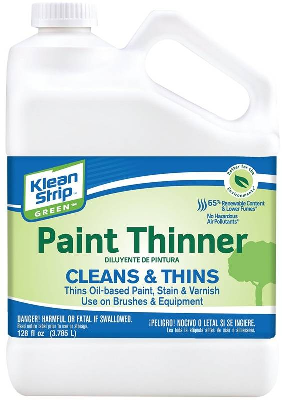 PAINT THINNER GREEN CARB GAL - Case of 4