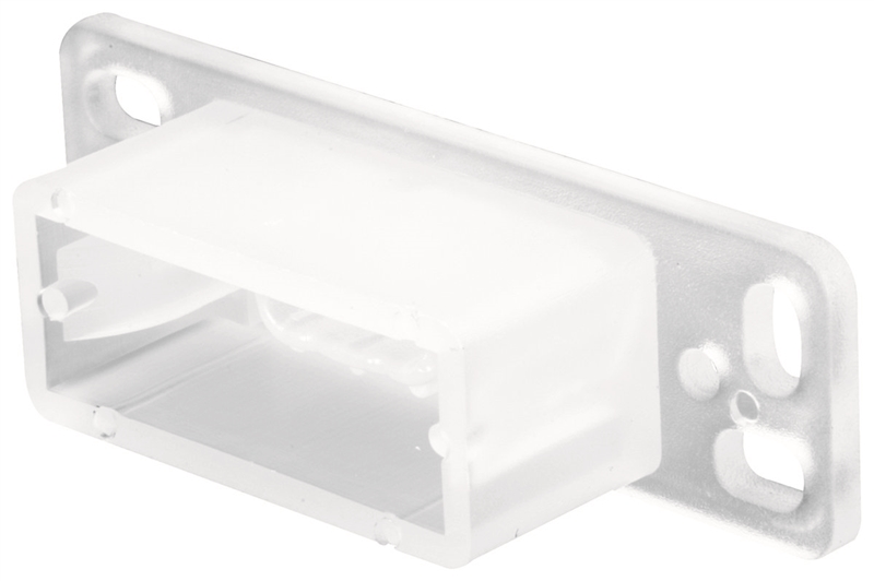 Prime Line R 7145 Drawer Track Backplate 3 4 In L X 2 13