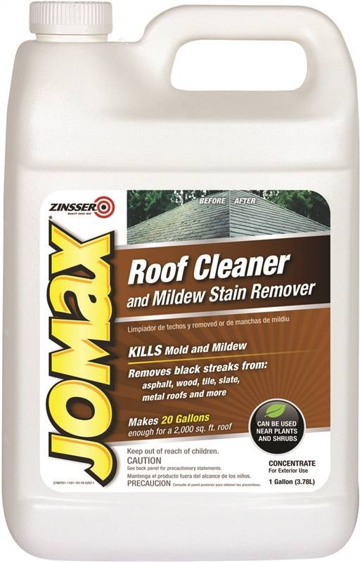 Zinsser 60701 Roof Cleaner And Mildew Stain Remover 1 Gal
