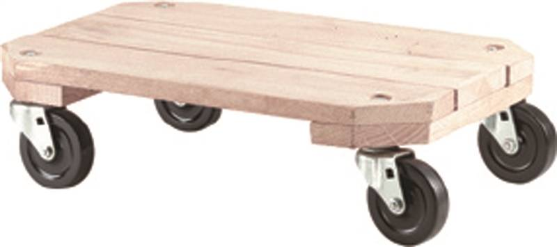 Shepherd 9854 Furniture Dolly 360 Lb 25 In L X 18 1 4 In W X 12 1 2 In H Solid Wood
