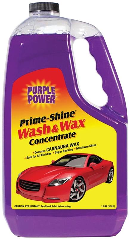 Purple Power Car Wash With Carnauba Wax