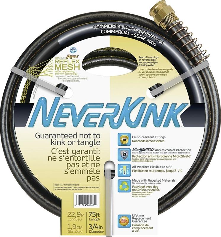 Teknor Apex 9844 075 Never Kink Garden Hoses
