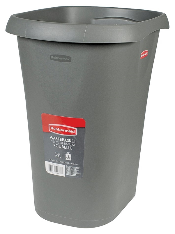 21 Qt Large Open Wastebasket Stunning Rubbermaid 60L6060 Open Top Vanity Wastebasket 60 Qt 606060 In L X 6060