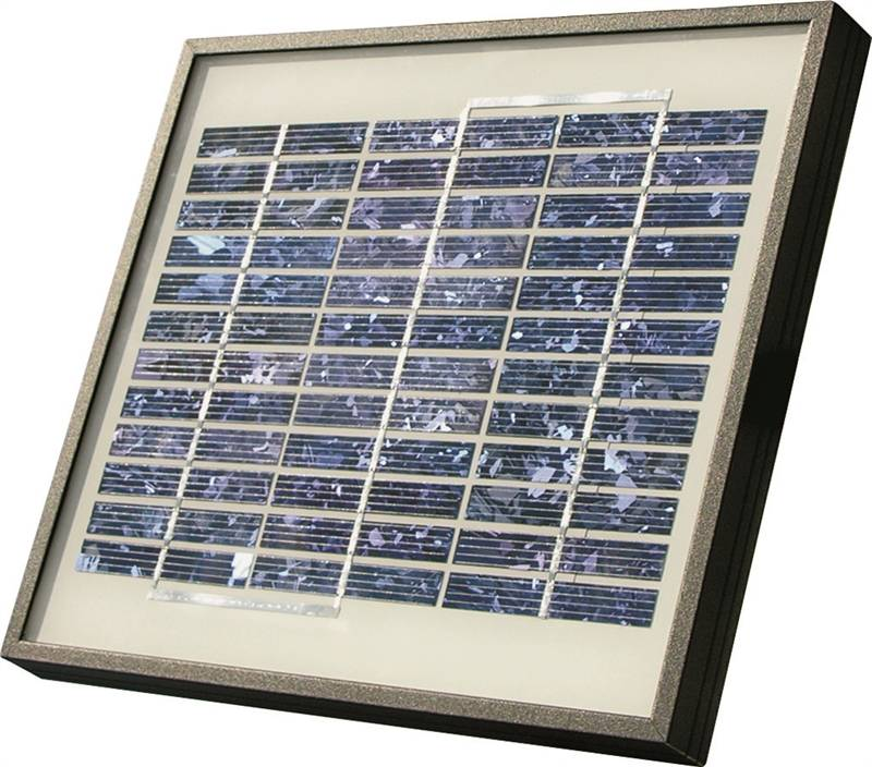 Mighty mule fm121 solar panel kit for use with mighty for Sutherlands deck kits