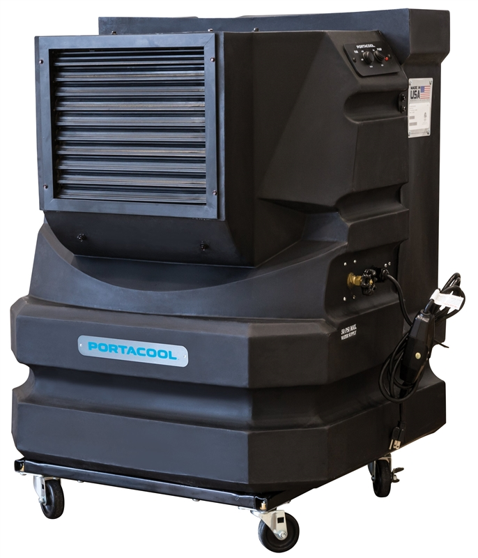 Evaporative Cooler For Pool : Cyclone pac kcyc a portable evaporative cooler