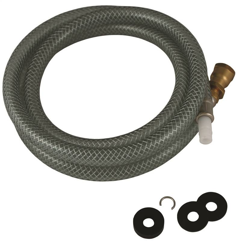 Plumb Pak PP815-3 Replacement Sink Spray Hose, 48 in, Plastic/Brass