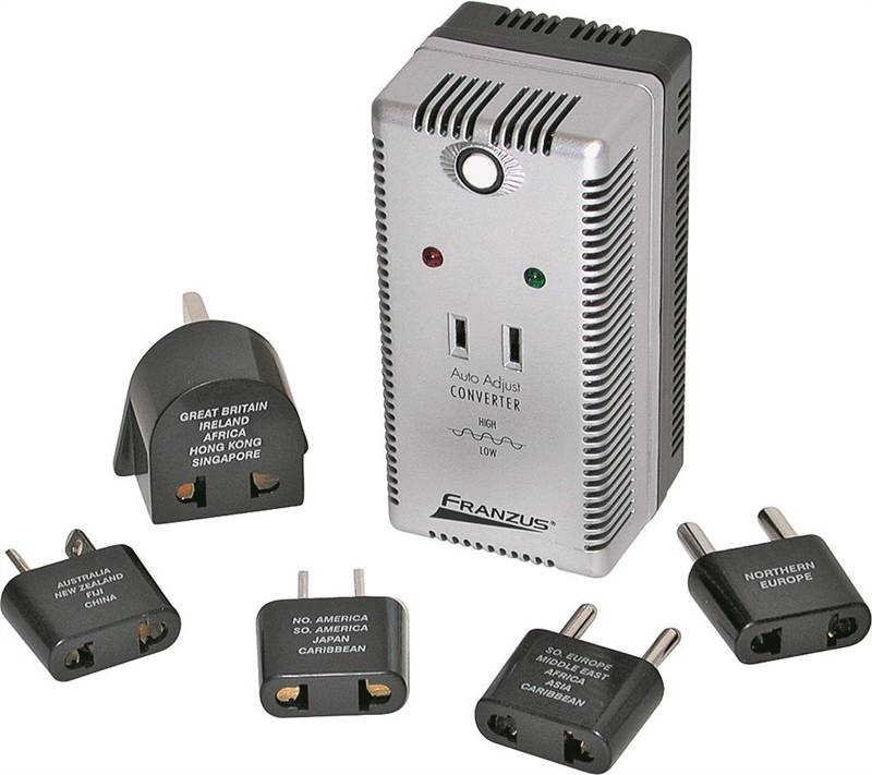 Conair Ps200e Travel Smart Voltage Converter Adapter Sets