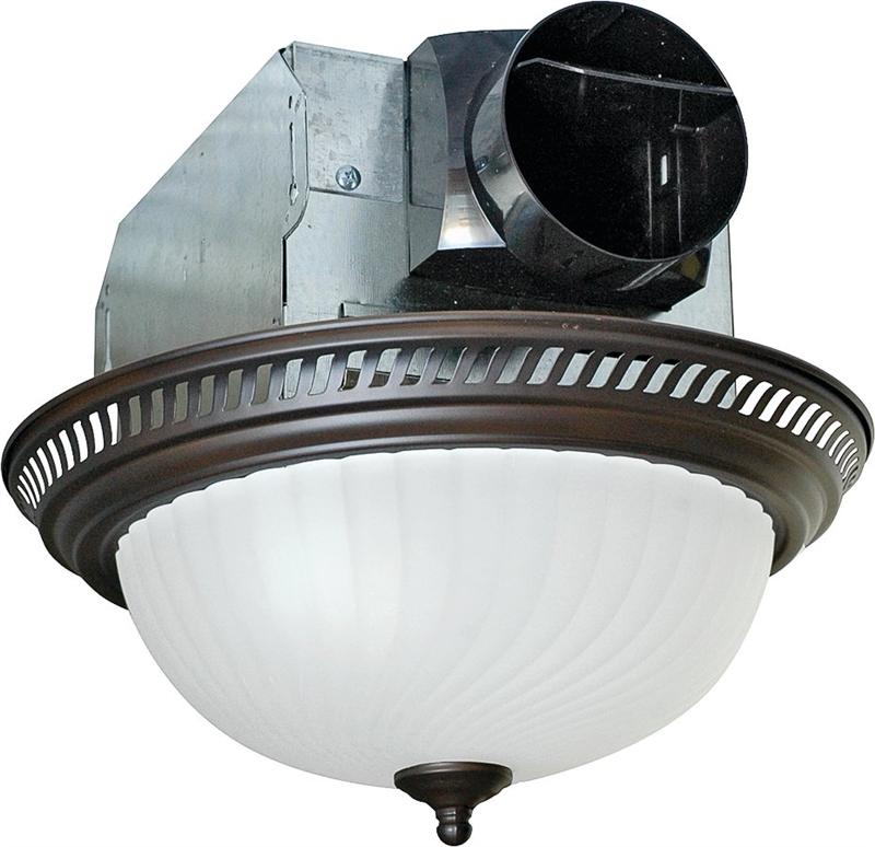 Air King Aklc701 Quiet Round Exhaust Fan Light