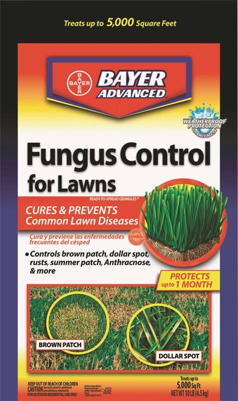 Bayer Advanced 701230A Fungicide Fungus Control, 10 lb, Bag, 5000 sq-ft