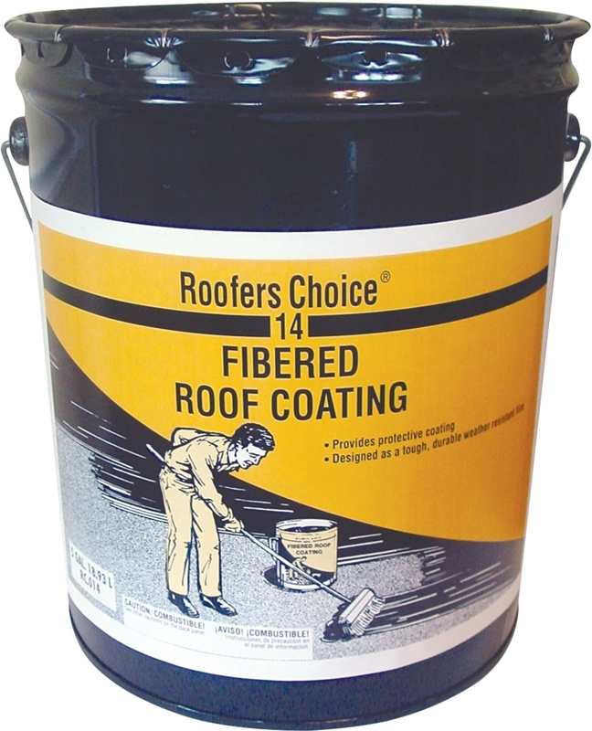 Henry Roofers Choice Fibered Roof Coating 4 75 Gal