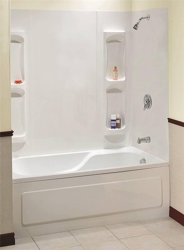 Maxx Utah 102573 000 129 5 Piece Bathtub Wall Kit 59 61