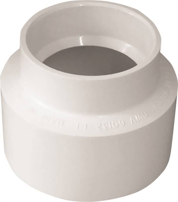 6 Hub PVC Bull Nose Tee