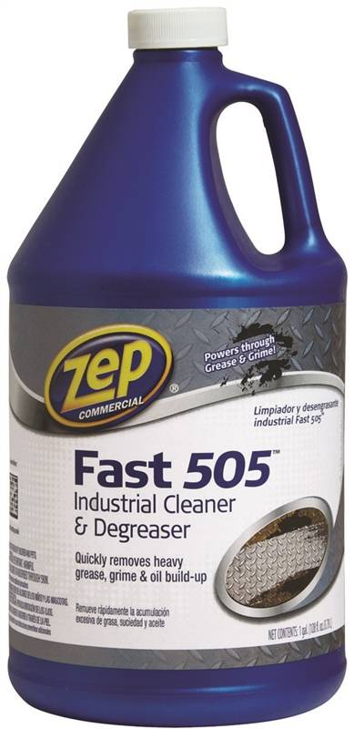 Zep ZU505128 Cleaner and Degreaser, 1 gal, Bottle, Colorless to Light  Yellow, Liquid