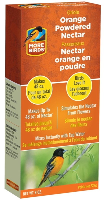 Stokes Select 38550 Concentrated Bird Food Instant Nectar 8 Oz Box