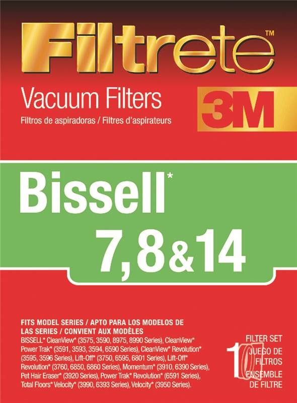 Filtrete 66878a 4 Type 7 8 14 Vacuum Cleaner Filter