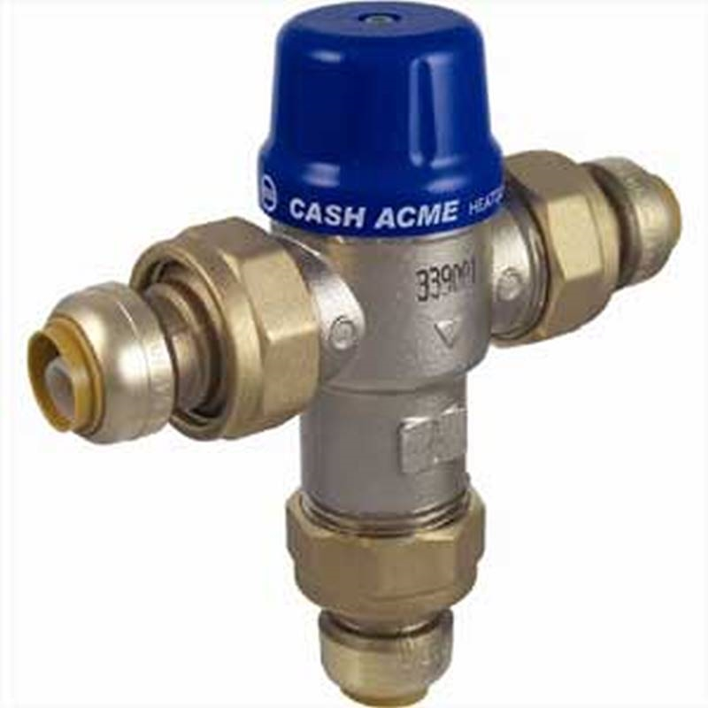 CASH ACME HG110D Thermostatic Mixing Valve,1//2in.,200 psi