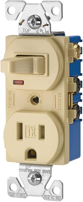 Cooper Tr274v Duplex  Heavy Duty Combination Switch