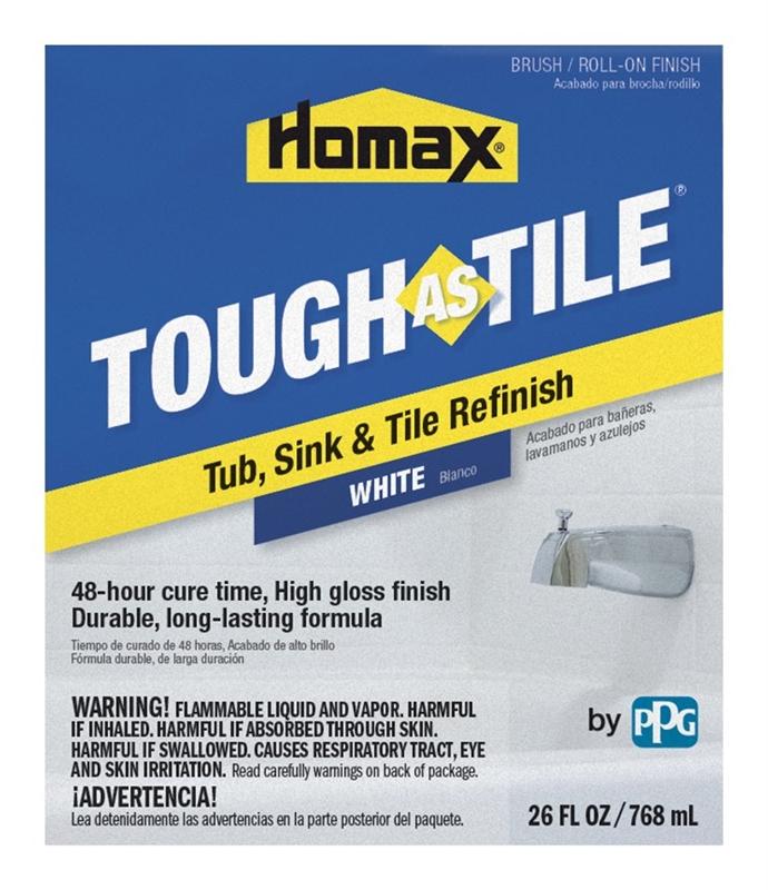Homax Tough As Tile Brush On One Part Epoxy Paint Epoxy