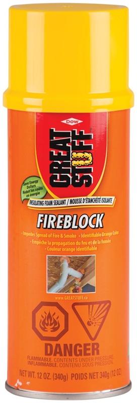 Great Stuff 11107406 Fireblock Insulating Foam Sealant, 340 g