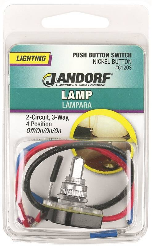 Jandorf 61203 Double Circuit Push Button Switch