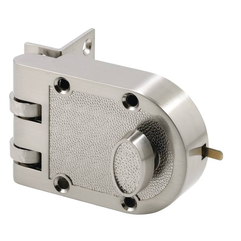 Prime Line U 10817 Jimmy Proof Single Cylinder Deadlock