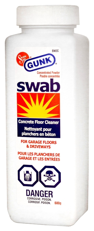 Gunk solder seal sw2c swab concrete cleaner 1 5 lb for Organic concrete cleaner