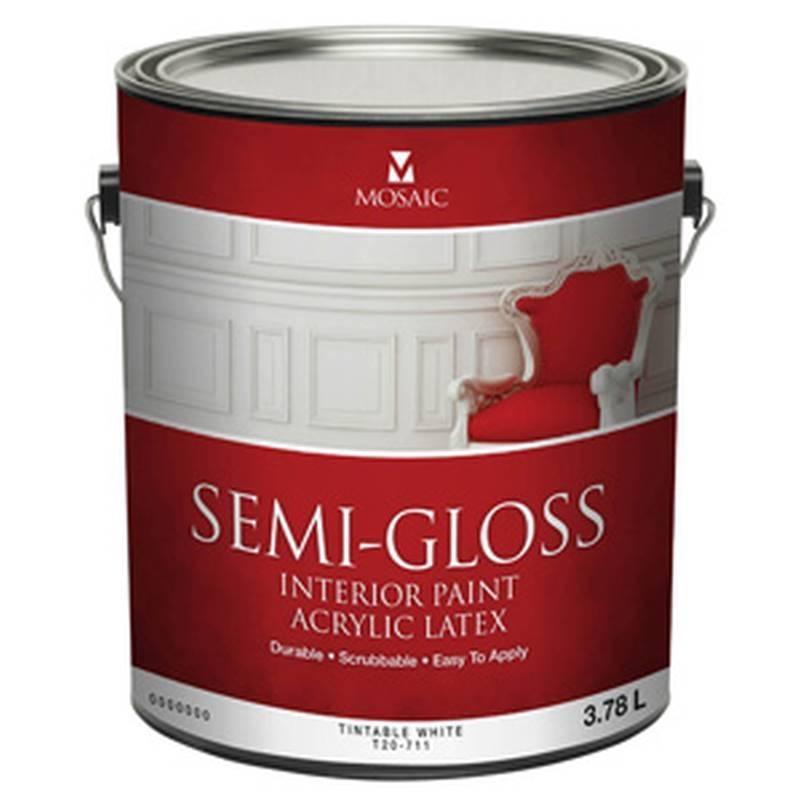 Mulco T20 711 946 Acrylic Latex Paint 946 Ml Tintable White
