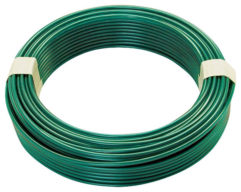 Wire Steel Green Vinyl 100 Ft Case Of 8