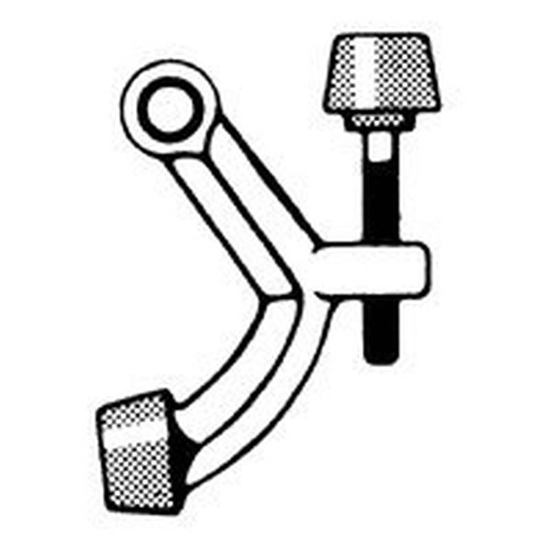 Schlage Sps70b61970b15 Hinge Pin Door Stop Satin Nickel