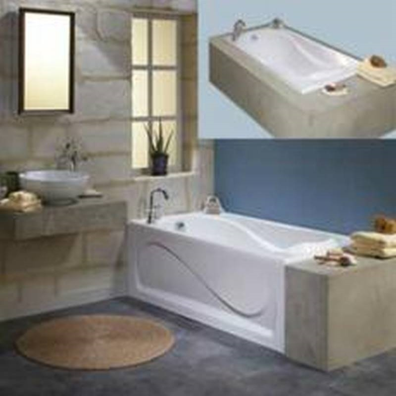 Cocoon 102722 000 001 000 Bathtub Rectangle 60 In L X 32