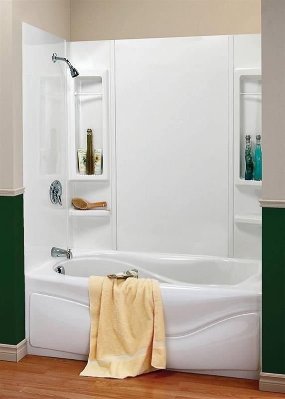 maxx finesse 101594000129 5piece bathtub wall kit 48