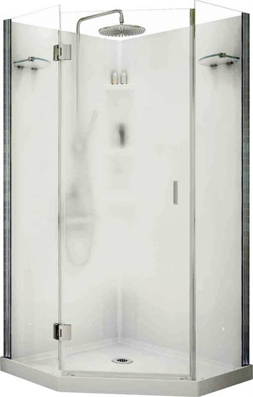 Maax Papaya 105545 3 Piece Shower Stall Kit 36 In L X 36