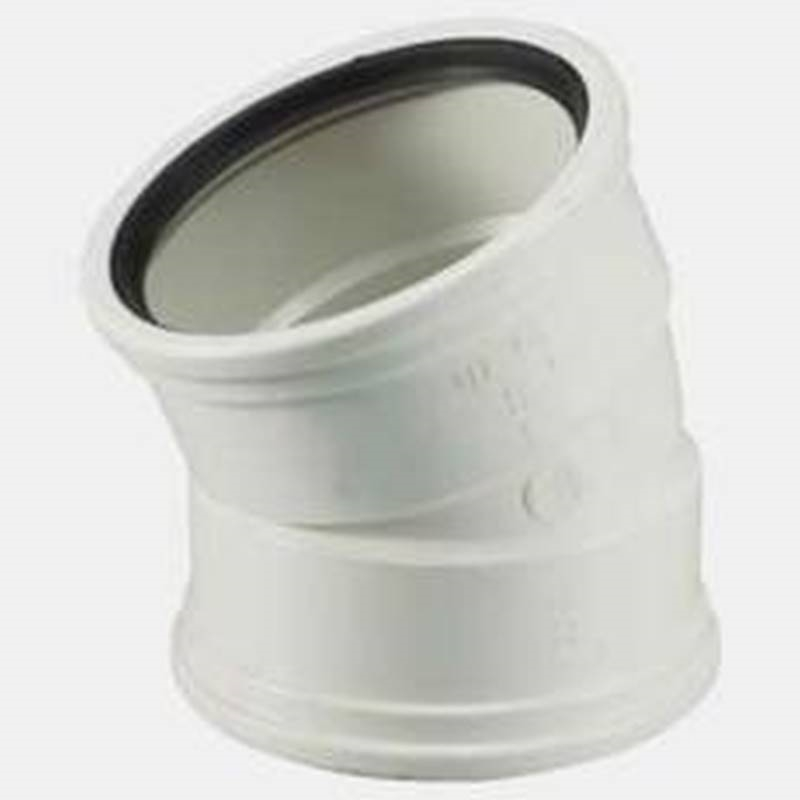 Ipex sewer and drain pipe elbow deg in