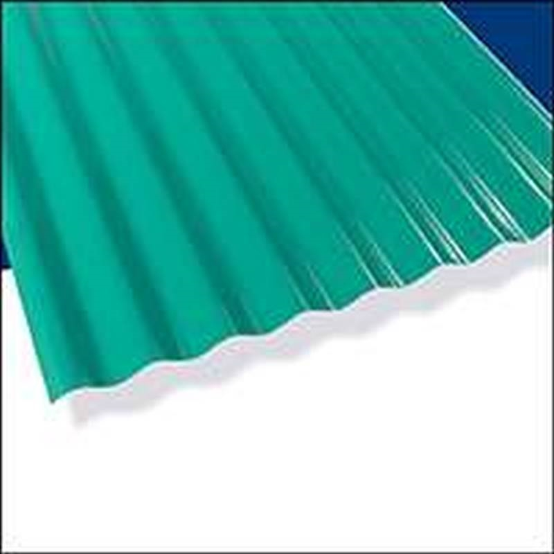 Palruf Pvc Pnl 12ftx26in Green Case Of 10