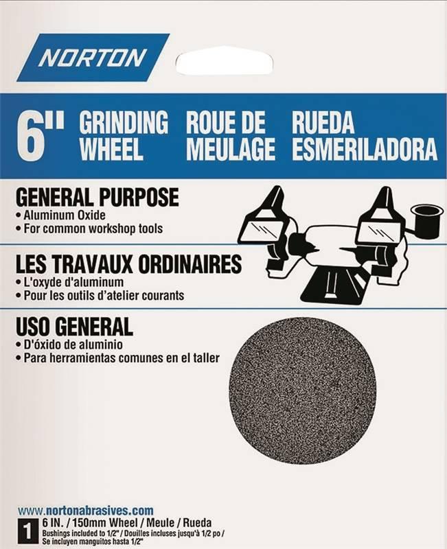 Norton 88245 Type 1 General Purpose Straight Grinding