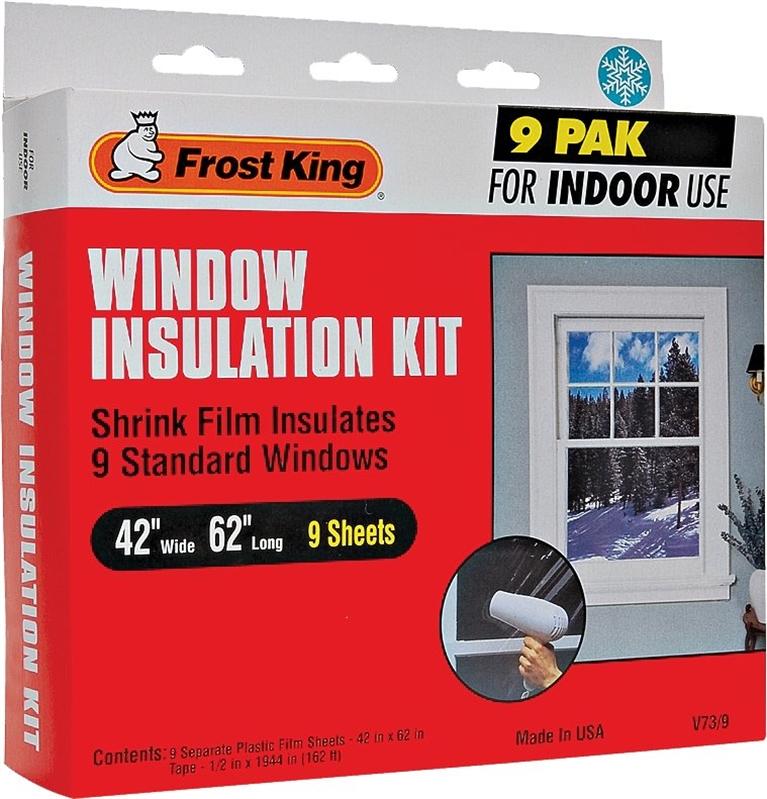 Frost King V73 9h Indoor Shrink Window Insulation Kit 42