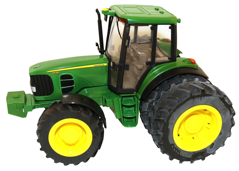 John Deere 35633 Toy Tractor With Duals, Plastic, Green