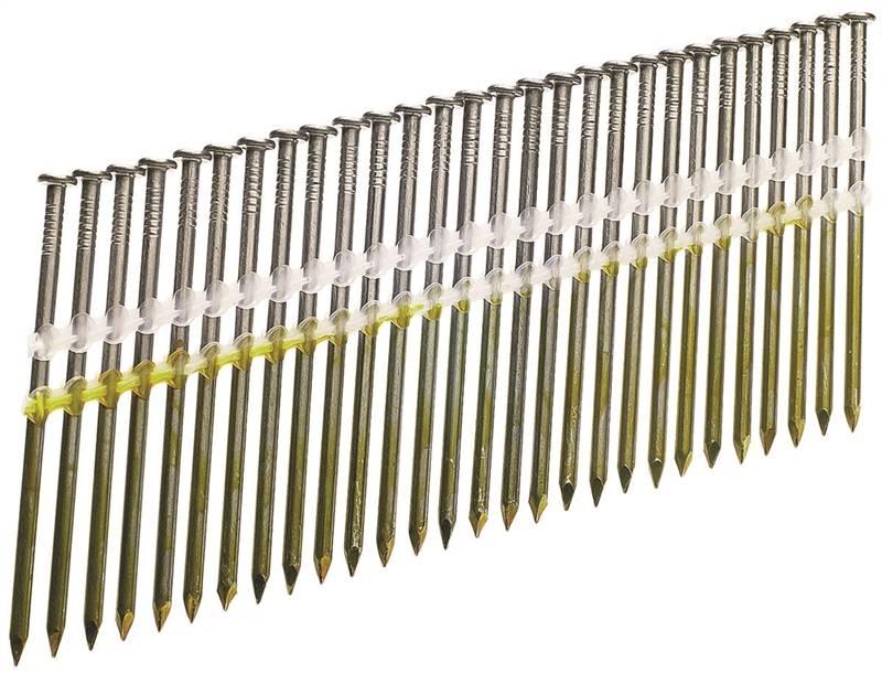 Senco KD27APBSR Stick Framing Nail, 0.131 in x 3 in, 20 deg