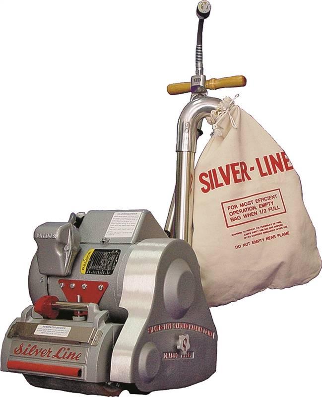 Essex Silver Line Sl 8v Line Floor Corded Sander With Hook