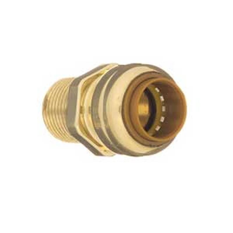 aqua-dynamic 9492-603 Tectite Adapter, 1/2 in, Push-Fit x MPT, 200 psi, 18  - 121 deg C, CPVC