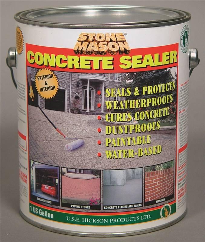Stone Mason Sn165219 Premium Concrete Sealer L