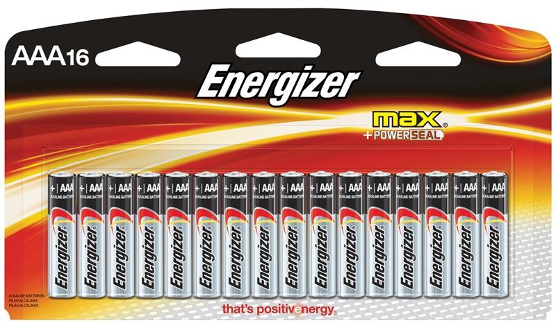 Rechargeable Alkaline Batteries >> Energizer E92lp 16 Non Rechargeable Alkaline Battery 1 5 V Aaa Zinc Manganese Dioxide