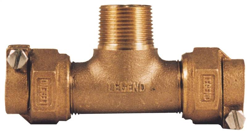 1 in Copper Legend Valve 313-395NL Pack Joint Tee CTS