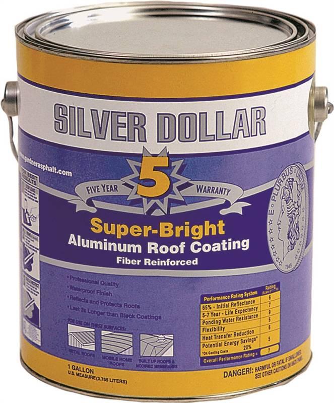 Coating Alum Roof Fiber 5yr Ga Case Of 6