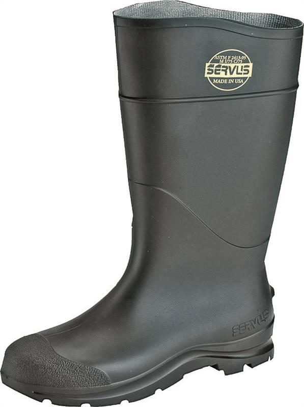 18034 BOOT PVC ST TOE 16IN BLACK 7