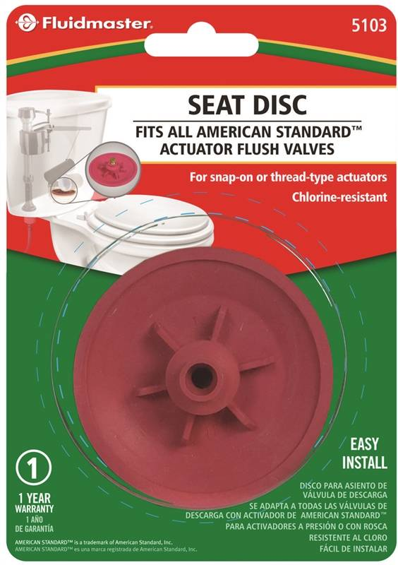 Fluidmaster 5103 Seat Disc For Use With American Standard